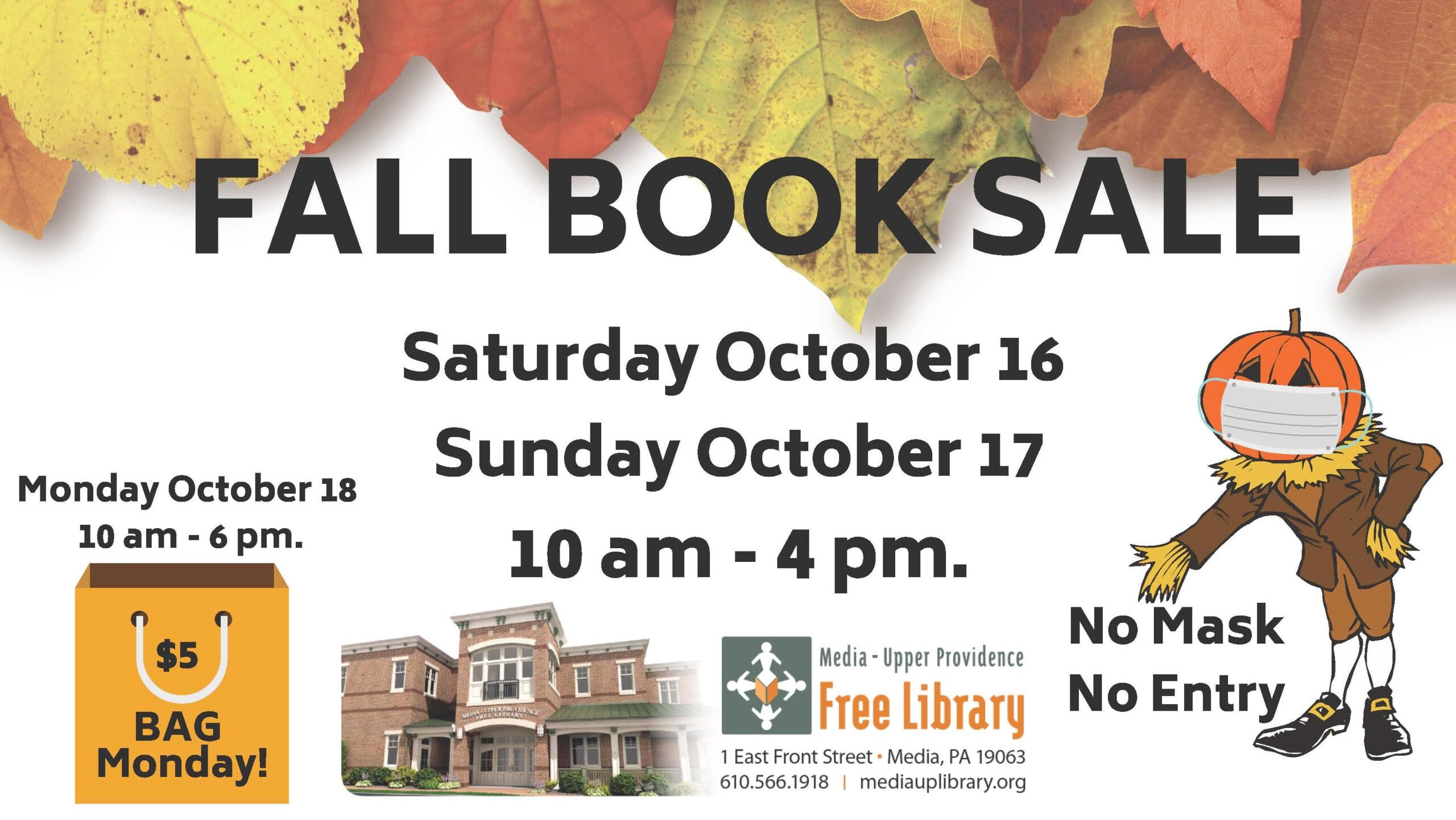 FALL BOOK SALE is ON!