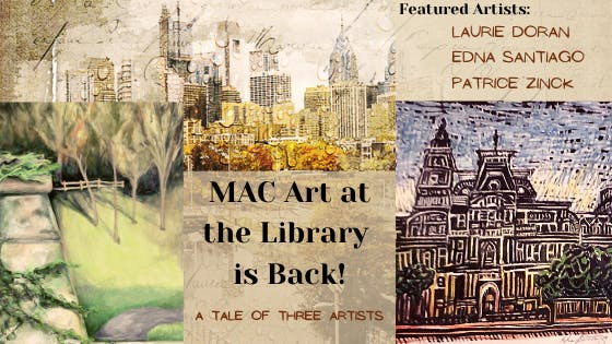 MAC Art at the Library is Back!
